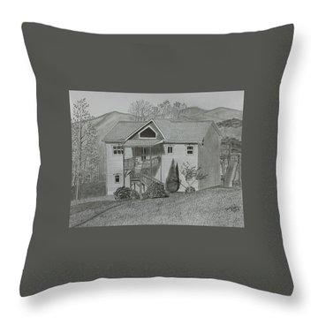 Sunset  Ridge  Throw Pillow