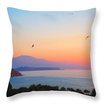 Sunset Serenade Throw Pillow by Andreas Thust