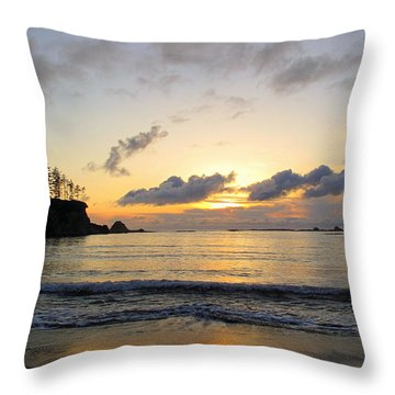 Sunset Serenity Throw Pillow