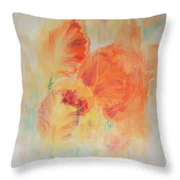 Sunset Shades Throw Pillow