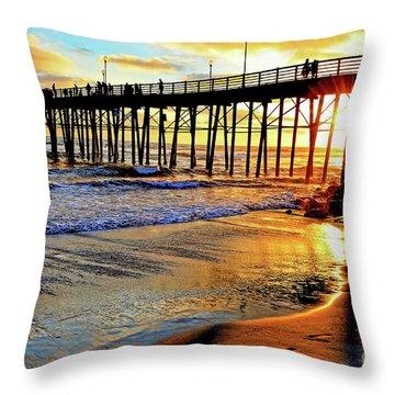 Sunset Shimmer Throw Pillow