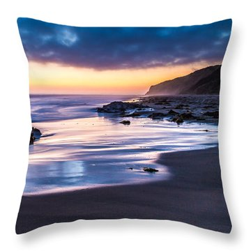 Sunset Shine Throw Pillow