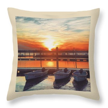 Sunset So Sweet Throw Pillow