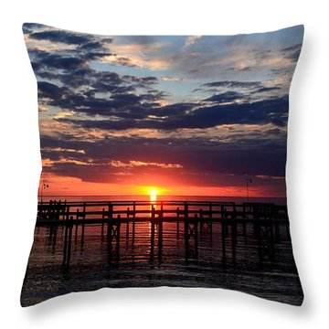 Sunset - South Carolina Throw Pillow