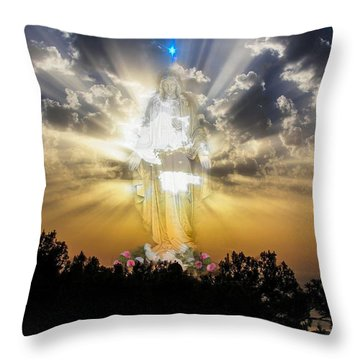 Sunset Spirit Throw Pillow