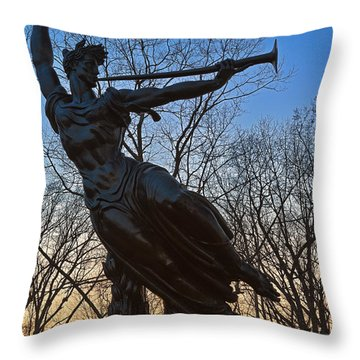 Sunset Spirit Of Louisiana Throw Pillow