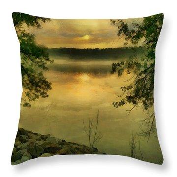 Sunset Splendor Throw Pillow by RC deWinter