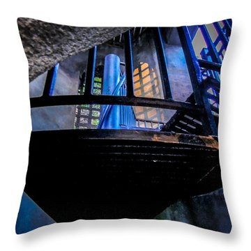 Sunset Staircase Throw Pillow by Glenn Feron