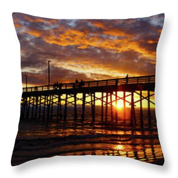Sunset  Throw Pillow by Thanh Thuy Nguyen