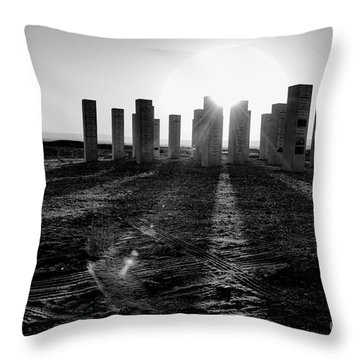 Sunset Time Throw Pillow