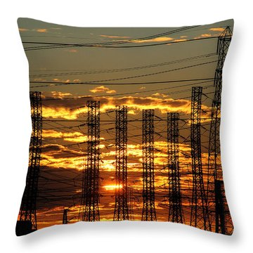 Sunset Today Throw Pillow