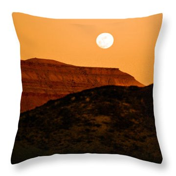 At Sunset Throw Pillow by Gilbert Artiaga