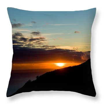 Throw Pillow featuring the photograph Sunset,beauty-05 by Joseph Amaral