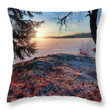 Sunsets Creates Magic Throw Pillow