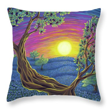 Sunsets Gift Throw Pillow