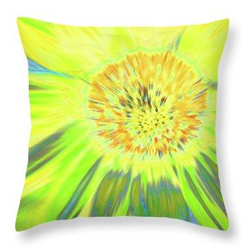 Sunshake Throw Pillow