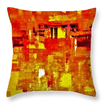 Sunshine Almost Always Makes Me High Throw Pillow