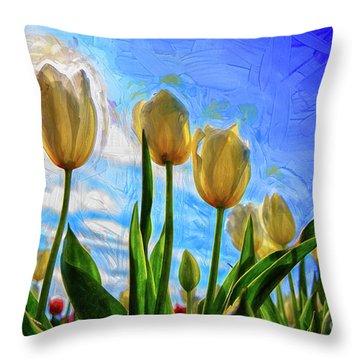 Sunshine Day Throw Pillow