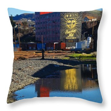 Sunshine Mill Reflection Throw Pillow
