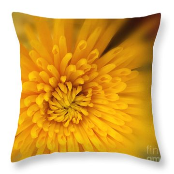 Sunshine Mum Throw Pillow by Kathy M Krause