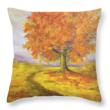 Sunshiney Kind Of Morning Throw Pillow