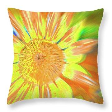 Sunsoaring Throw Pillow
