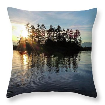 Sunstar Announcing Dusk Throw Pillow