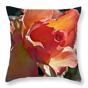 Sunstruck Throw Pillow by Gwyn Newcombe