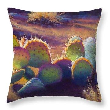 Sunstuck Throw Pillow