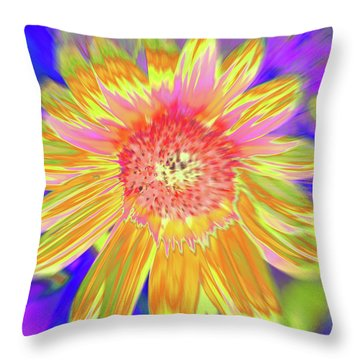 Sunsweet Throw Pillow