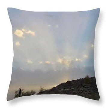 Suntensed Throw Pillow
