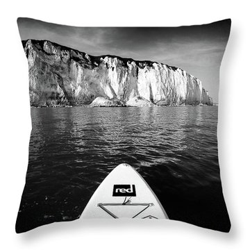 Throw Pillow featuring the photograph Sup Pov by Will Gudgeon