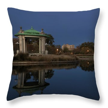 Throw Pillow featuring the photograph Super Moon by Andrea Silies