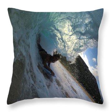 Super-shack Throw Pillow