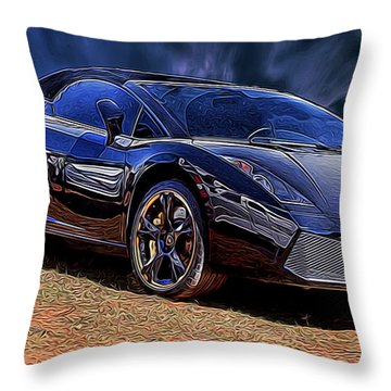 Super Speed Throw Pillow