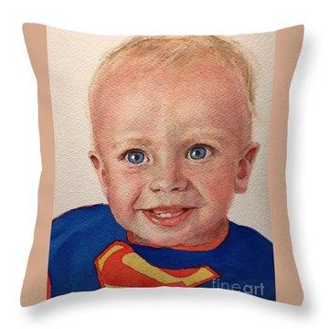Superboy Throw Pillow