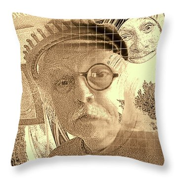 Superego, Ego, And Id Throw Pillow