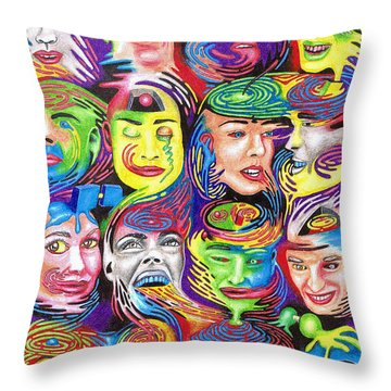 Supererogatory Cognizance Throw Pillow