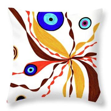Superficial Throw Pillow
