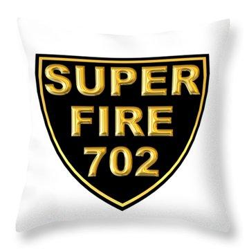Superfire 702 Throw Pillow