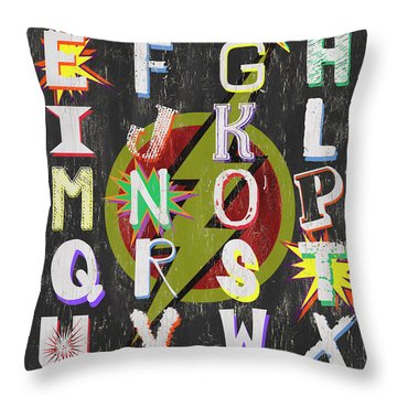 Lettering Throw Pillows
