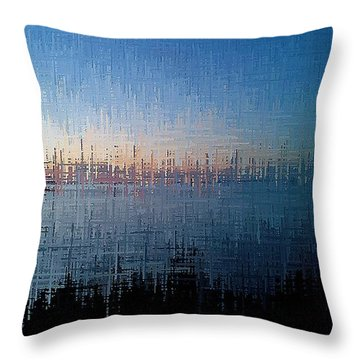 Superior Dawn Throw Pillow