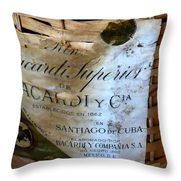 Superior Throw Pillow by Newel Hunter