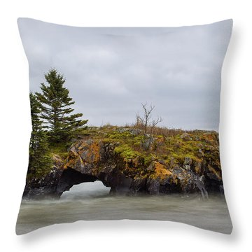 Superior Shores Throw Pillow