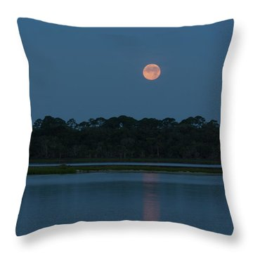 Supermoon Dawn 2013 #2 Throw Pillow