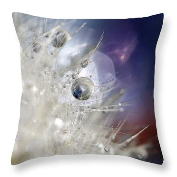 Throw Pillow featuring the photograph Supernova by Amy Tyler