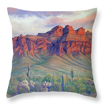 Superstition Sonata Throw Pillow