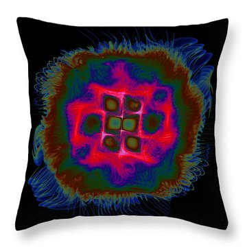 Suppenting Throw Pillow