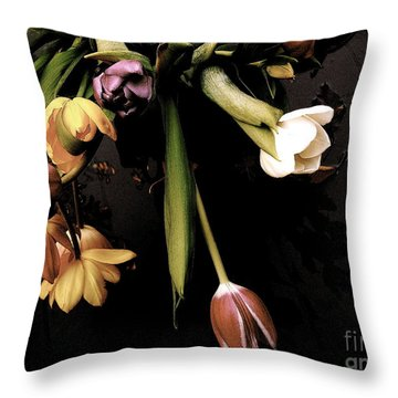 Throw Pillow featuring the photograph Sur Un Air Du Xviiie Siecle by Danica Radman
