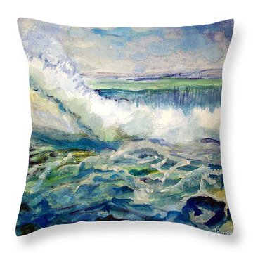 Surf 2 Throw Pillow